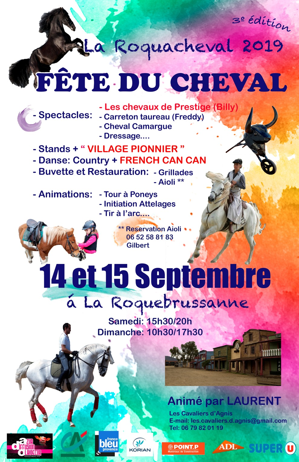 fete du cheval affiche officielle