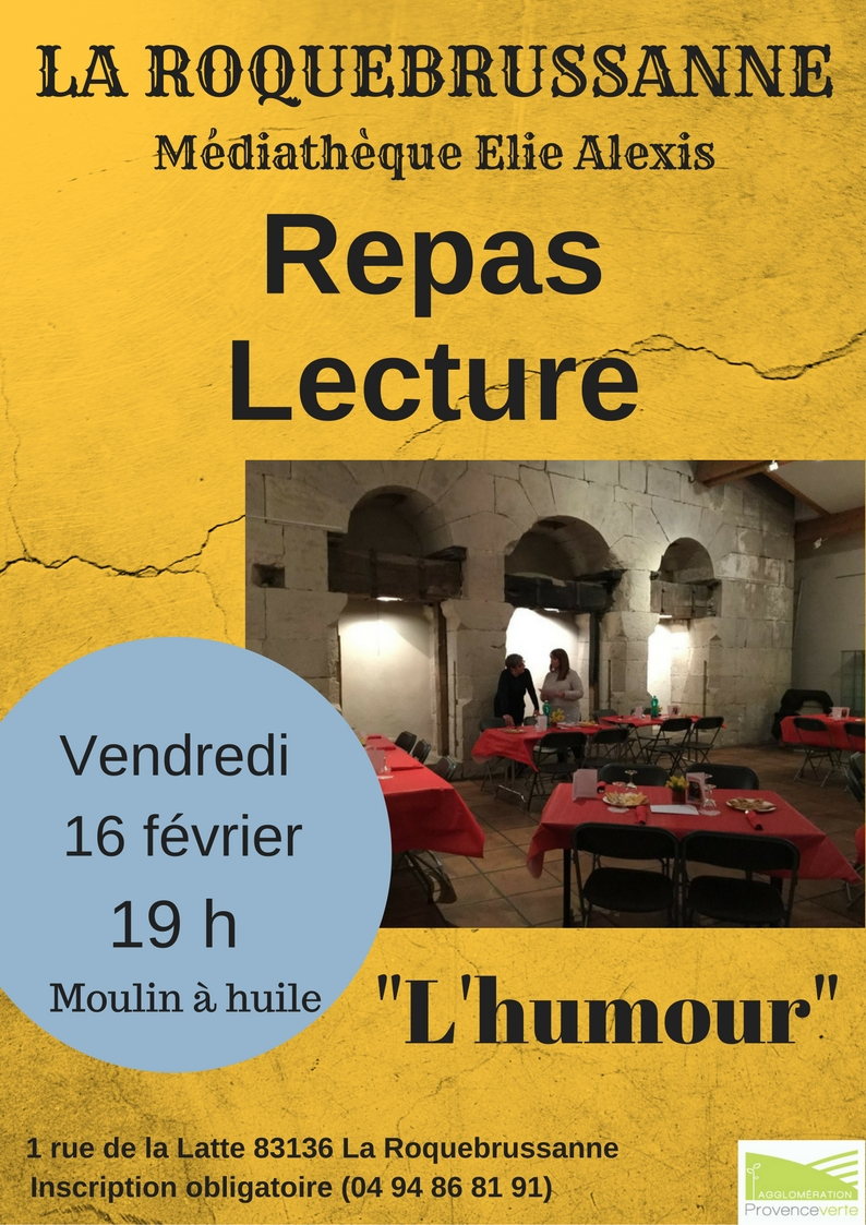 Repas lecture lhumour